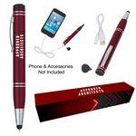 Custom Power Buddy Stylus Pen With Custom Box