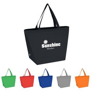 Non-Woven Budget Tote Bag With 100% RPET Material