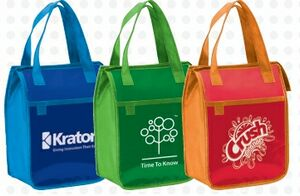 Promotional lunch bags for health fairs