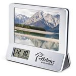 Custom 3-in-1 Calculator/ Picture Frame/ LCD Digital Clock