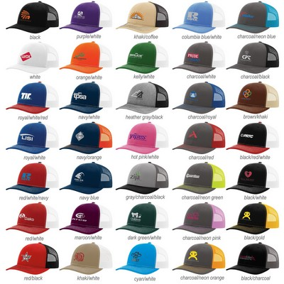 2c578acaf54ded Richardson Trucker Snapback. Create Virtual Sample; Download