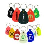 Custom Plastic Tuff Key Tag