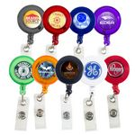 Custom Retractable Badge Holder w/ Full Color Dome