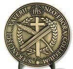 Custom Die-Struck 2-Sided/2D Design Brass Coin (2.6 mm)