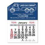 Custom Propane Truck Peel-N-Stick Multi-Use Calendar