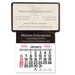 Custom Adhesive Business Card Holder (3 3-4