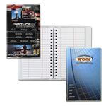 Custom Wire-O Tally Notebook Junior with ColorRich