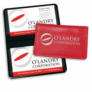 Promotional products canada apparel brand marketing calgary fold over business card case reheart Image collections