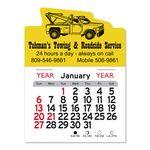 Custom Tow Truck Peel-N-Stick Multi-Use Calendar