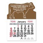 Custom Steer Peel-N-Stick Multi-Use Calendar