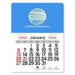 Custom Rectangle Peel-N-Stick Adhesive Multi-Use Calendar