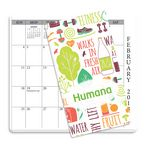 Custom Monthly Pocket Planner Color Rich