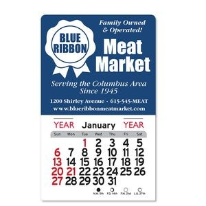 Billboard Peel-N-Stick® Calendar Magnetic
