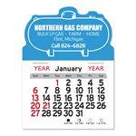 Custom Propane Tank Peel-N-Stick Multi-Use Calendar