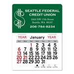 Custom Dollars Peel-N-Stick Multi-Use Calendar