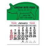 Custom Pig Peel-N-Stick Multi-Use Calendar