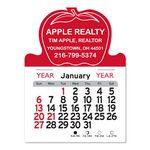 Custom Apple Peel-N-Stick Multi-Use Calendar