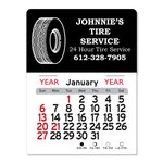 Custom Tire Peel-N-Stick Multi-Use Calendar