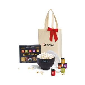 Movie Night Gourmet Popcorn Gift Set - Natural