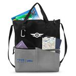 Custom Synergy All-Purpose Tote Black-Grey