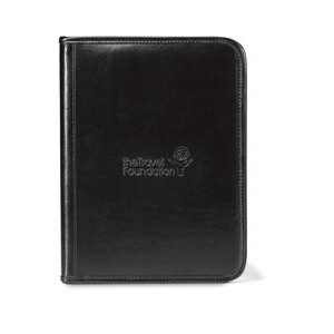 Tuscan Leather Writing Pad - Black