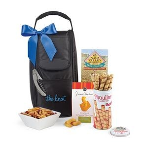 Everything But The Wine Gourmet Tote Black