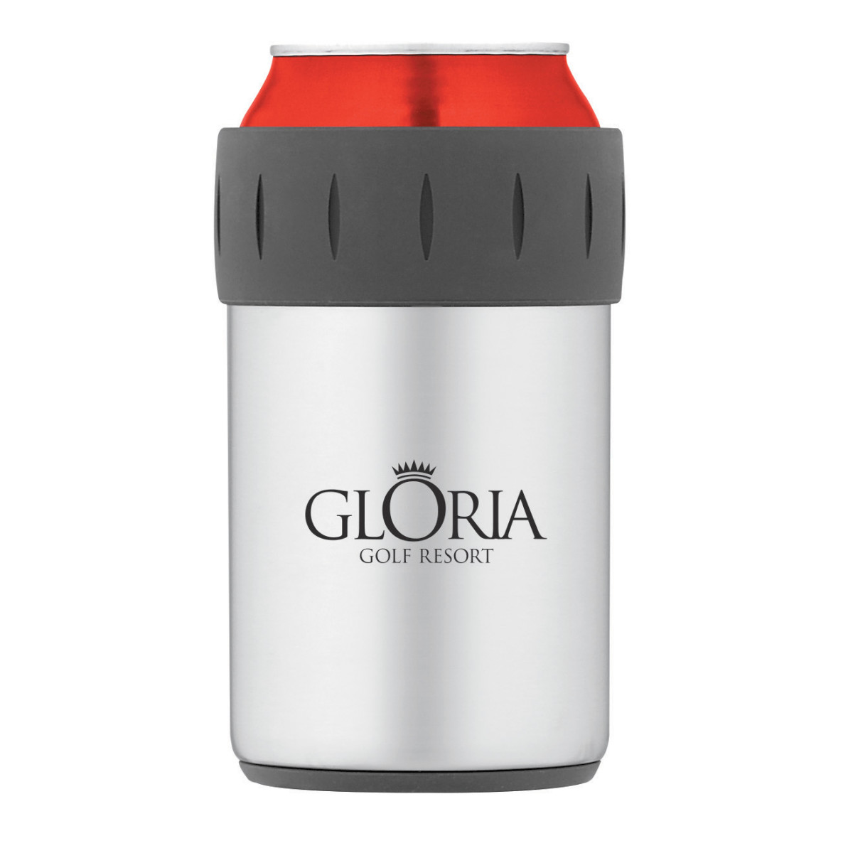 Thermos® Beverage Can Insulator - 12 Oz. Silver