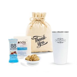 MiiR® Take A Break Gift Set - includes 16 Oz. Tumbler - White Powder