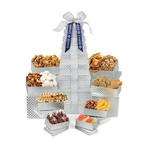 Sunsational Ultimate Shimmering Sweets and Snacks Gourmet Tower Grey