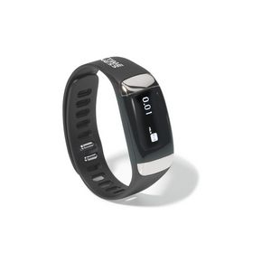 Active Health Tracker with Heart Rate Monitor Black