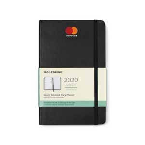 Moleskine® Hard Cover Large 12-Month Weekly 2020 Planner - Black