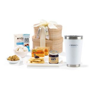 Day Break Gourmet Gift Set Blue-White