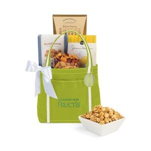 Piccolo Grab N' Gourmet Treats Tote Green