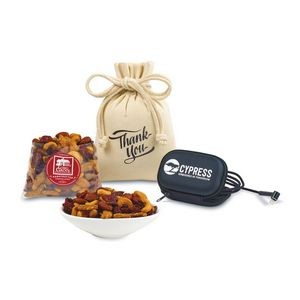 Re-Charge Snack & Side-Kick Gift Set - Black