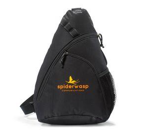 Wave Sling Bag Black