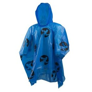 Rain Poncho Lightweight Royal Blue