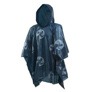 Rain Poncho Lightweight Navy Blue