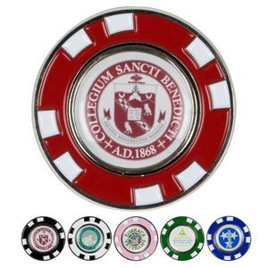 Metal Poker Chip Magnetic Ball Marker