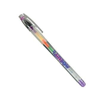 Rainbo Gel Pen w/ Translucent Gripper & Cap