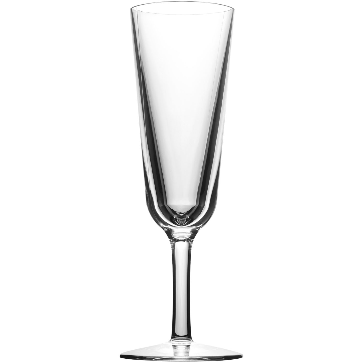 Blank 7 Oz. Champagne Flute Synthetic Glass