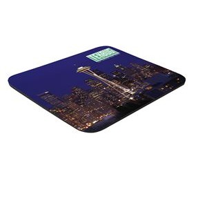 "8"" x 9-1/2"" x 1/8"" Full Color Hard Mouse Pad"