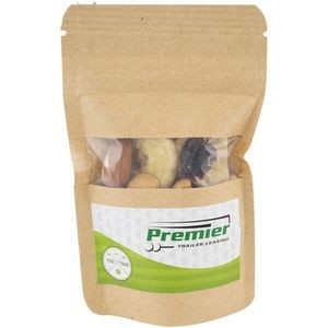 1.3 oz Kraft Resealable Pouch - Trail Mix