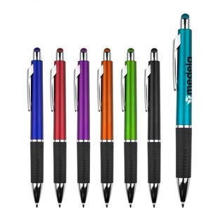 Bounty Metallic Stylus Pen w/ Black Gripper