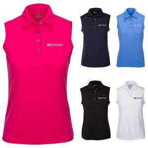 Women's Sleeveless Robins Polo' Shirt