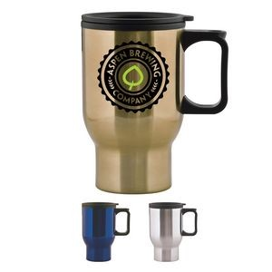 15 oz Aspen Stainless Travel Mug