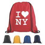 Custom Polyester Drawstring Backpack