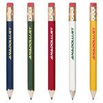 Custom Hex Wooden Golf Pencil with Eraser