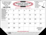 Custom Standard 2 Color Desk Pad Calendar