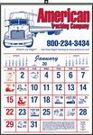 Custom Commercial Wall Calendar
