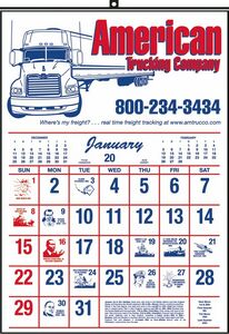 Commercial Wall Calendar